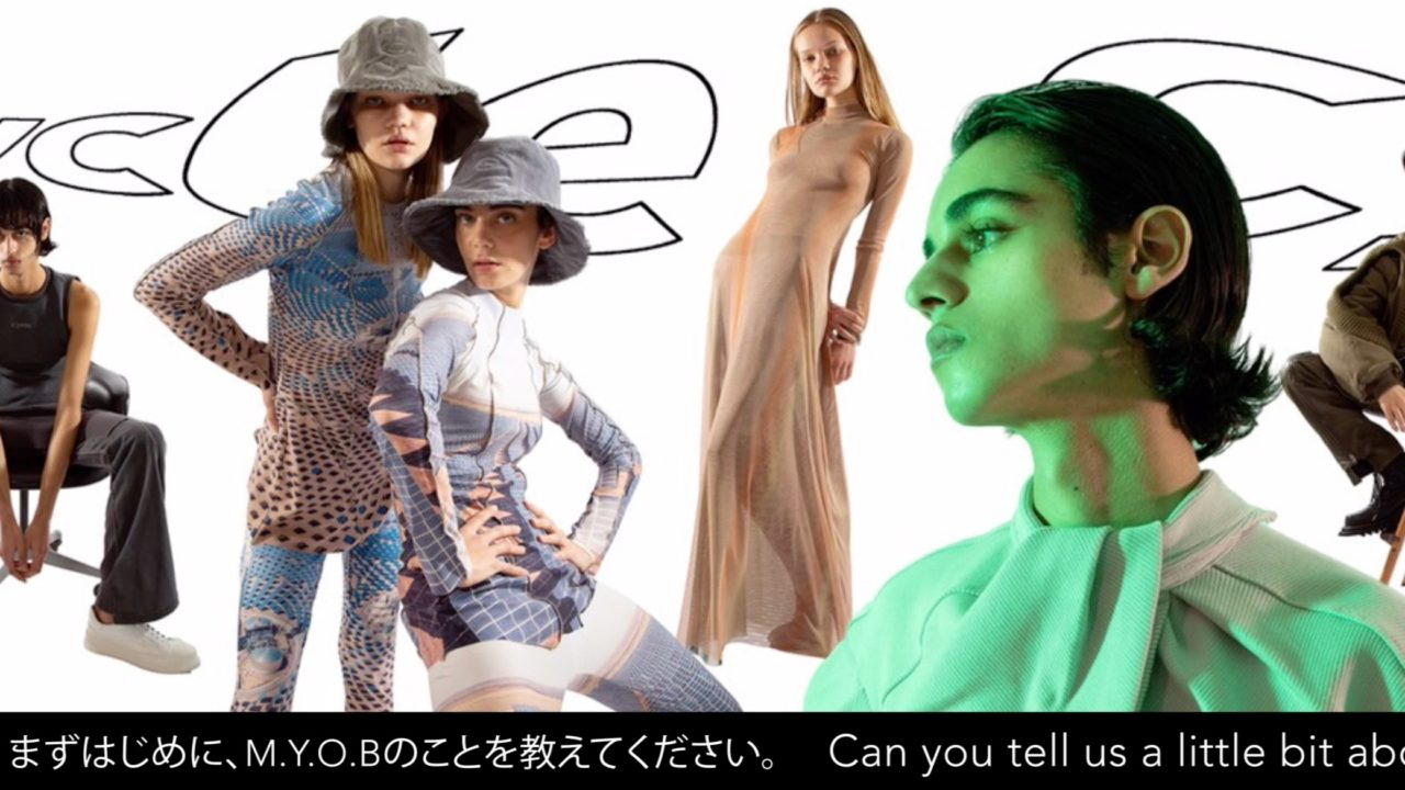 Af_109 cycle by MYOB  2020 AUTUMN / WINTER EXHIBITION REPORT
