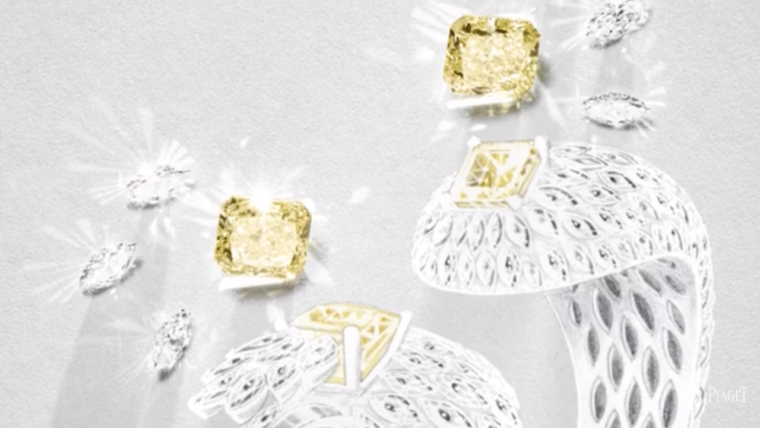 High Jewellery Exquisite Moments Yellow Diamond Cuff I PIAGET