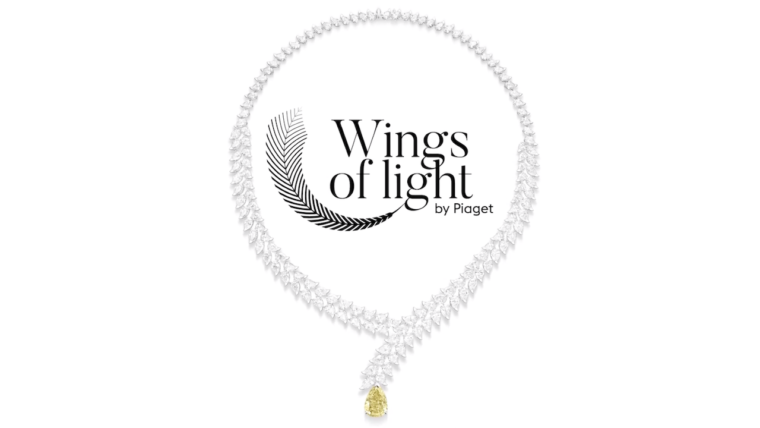 High Jewellery Yellow Diamond Heliconia Necklace I PIAGET